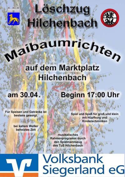Plakat Maifest Feuerwehr Hilchenbach