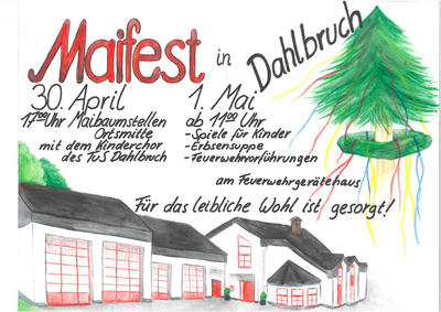 Plakat Maifest Feuerwehr Dahlbruch
