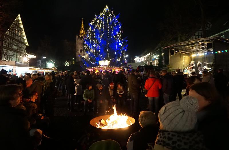 Das Weihnachtsmarkt.Weihnachtsmarkt Hilchenbach