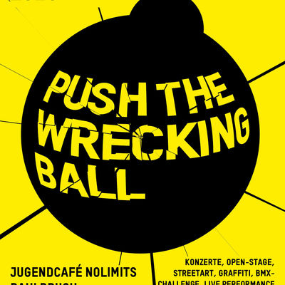 Plakat PUSH The Wrecking Ball