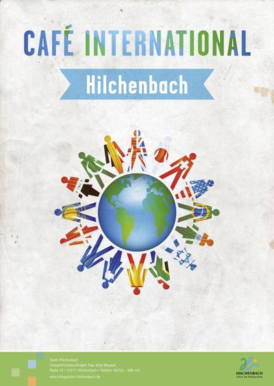 Bild vergrößern: Integration_Plakat_Cafe_International