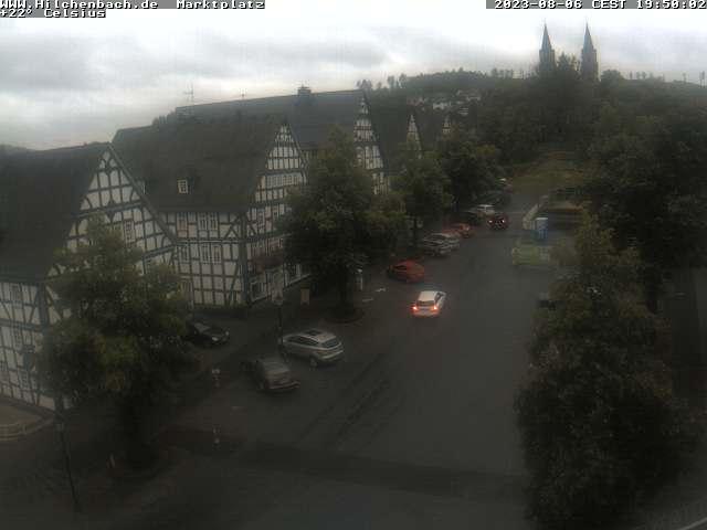 Hilchenbach, Marktplatz / Siegerland / Deutschland
